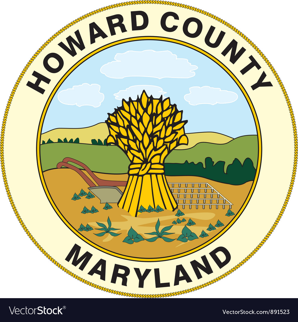 Howard county seal vector | Price: 1 Credit (USD $1)