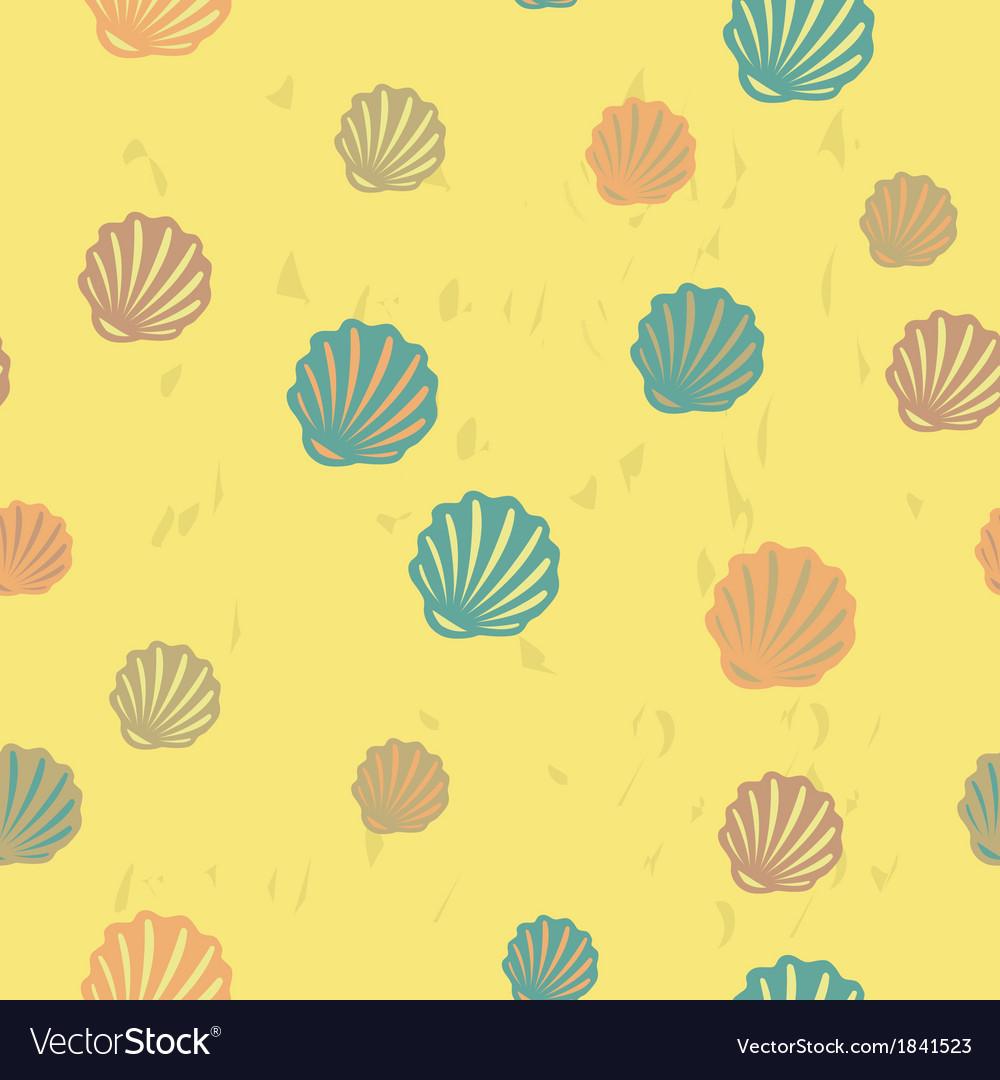 Summer beach seamless pattern vector   Price: 1 Credit (USD $1)