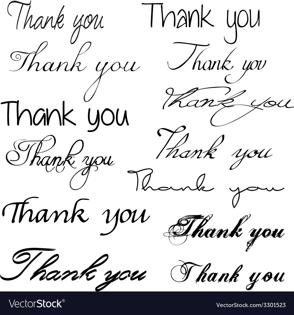 Thankyou8 vector | Price: 1 Credit (USD $1)