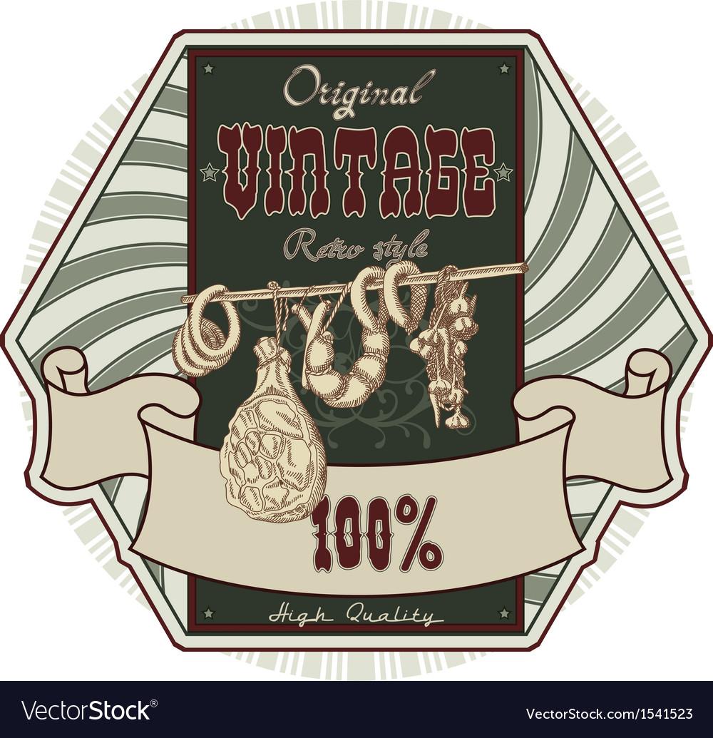 Wine tag vector | Price: 1 Credit (USD $1)