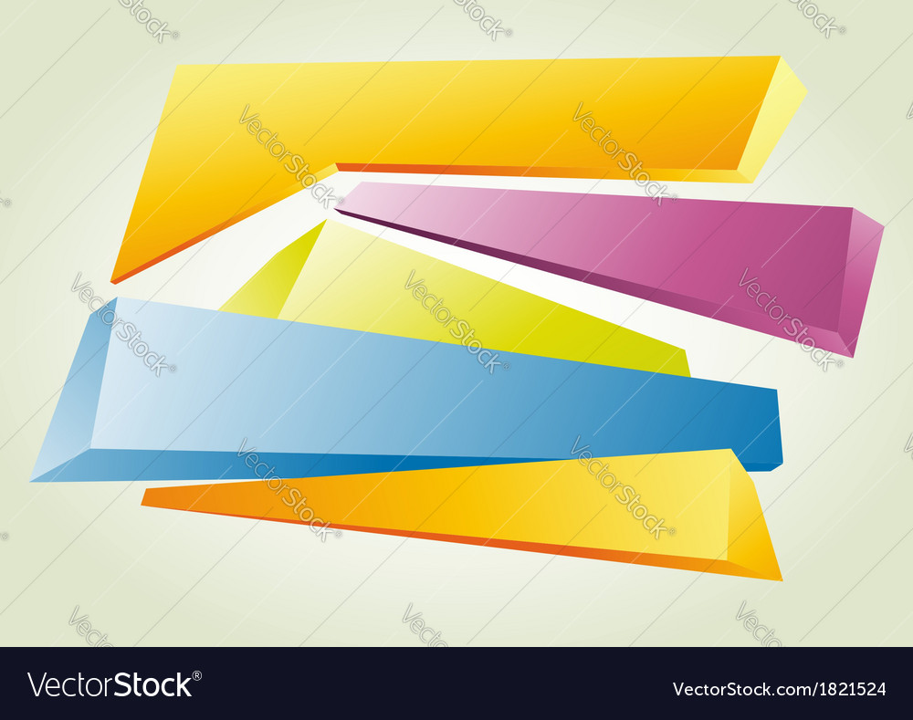 Abstract background in perspective vector | Price: 1 Credit (USD $1)