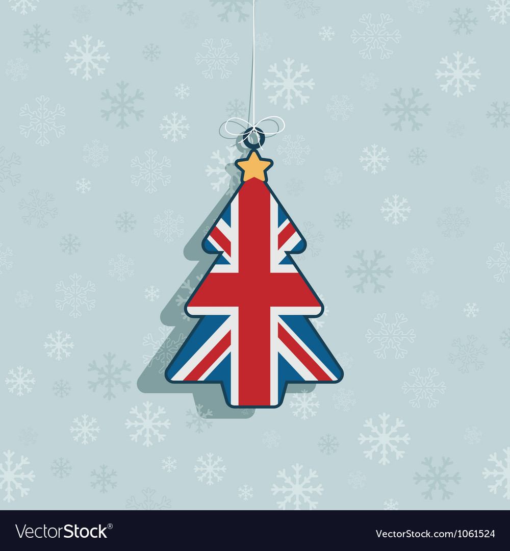 Uk christmas decoration vector | Price: 1 Credit (USD $1)
