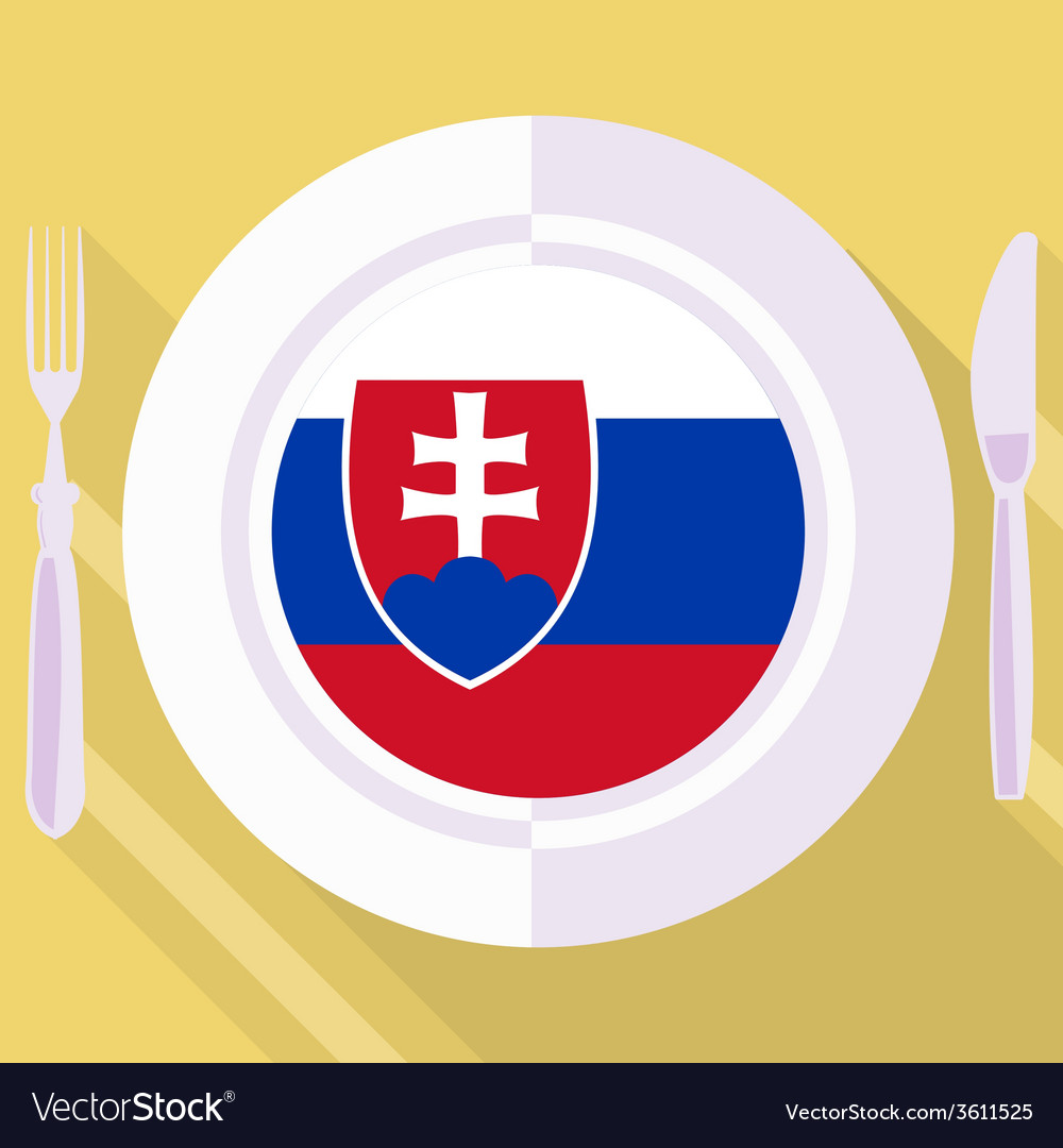 Kitchen of slovakia vector | Price: 1 Credit (USD $1)