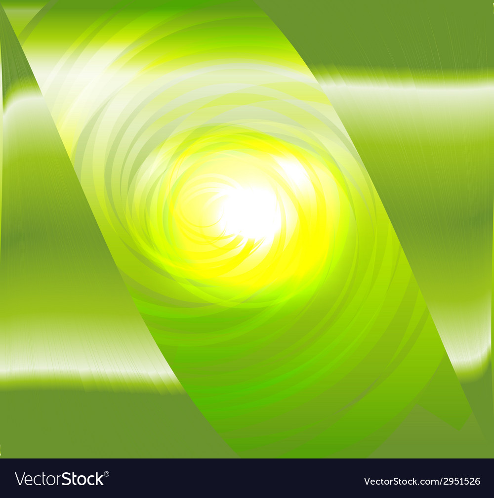 Light green spiral abstract design vector | Price: 1 Credit (USD $1)