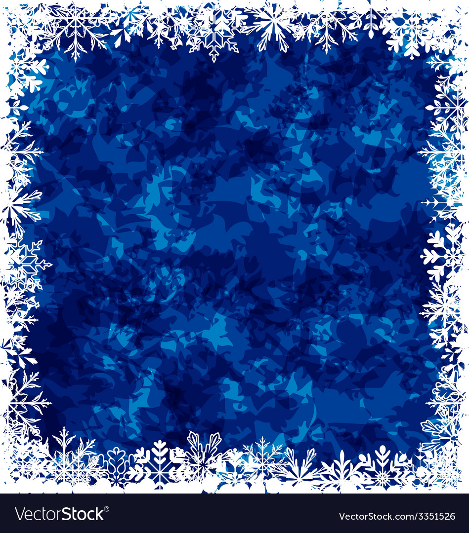 New year grunge background frame made in vector