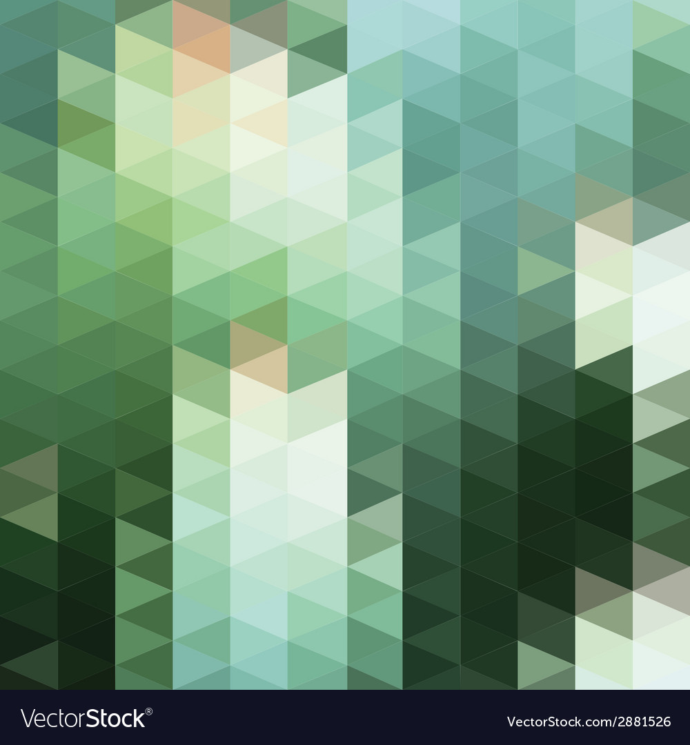 Pattern geometric background with triangles vector | Price: 1 Credit (USD $1)