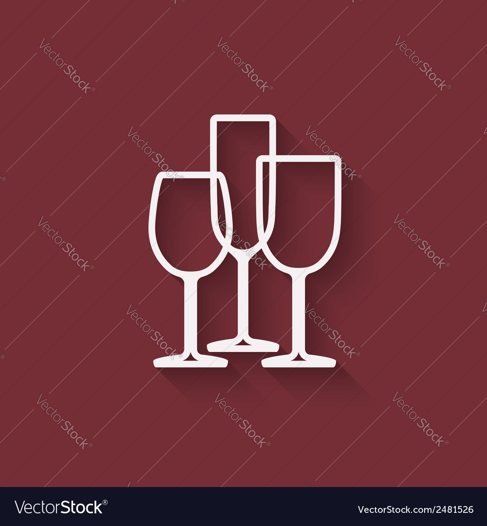 Wine menu design element vector | Price: 1 Credit (USD $1)
