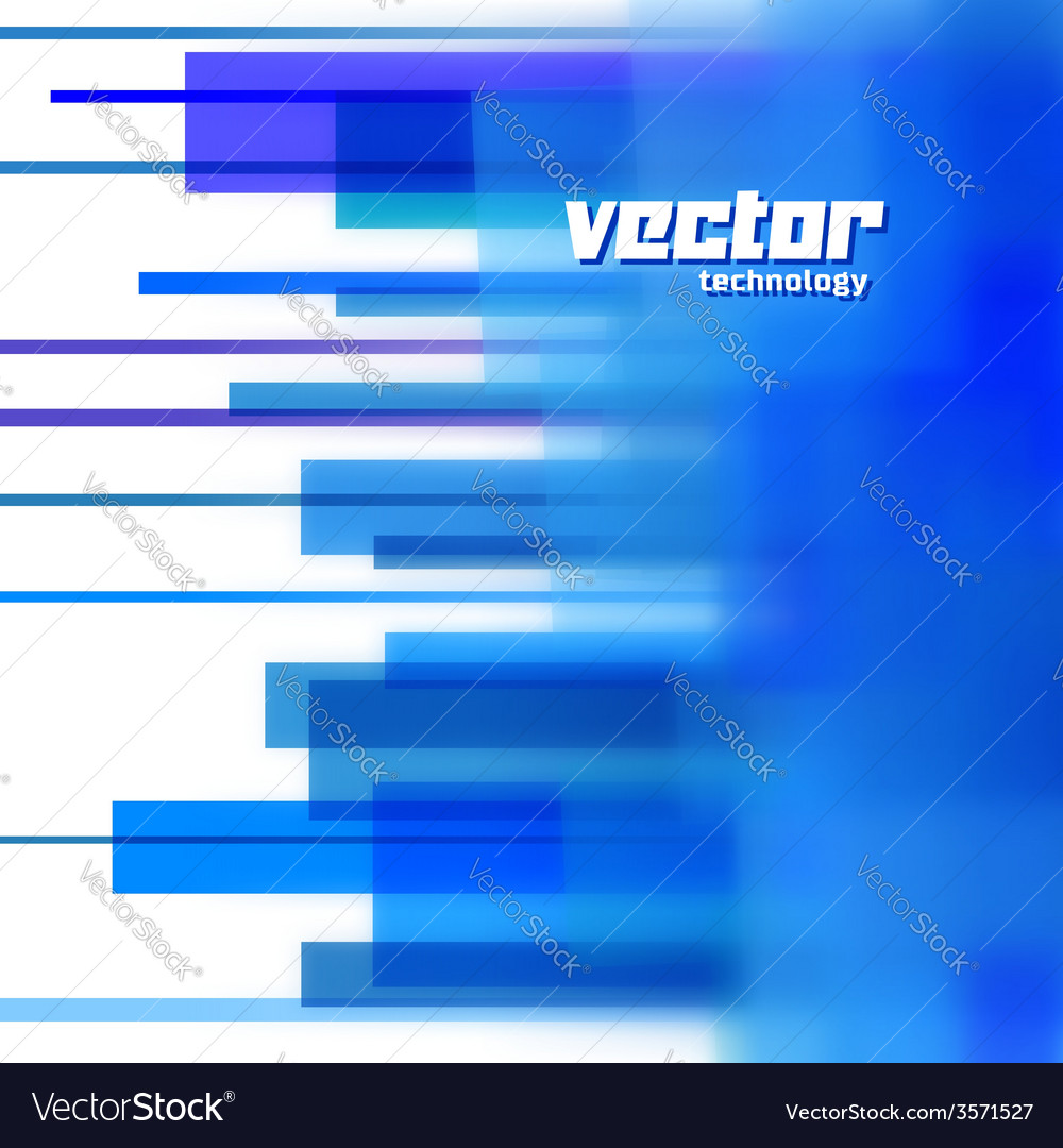 Background with blue blurred lines vector | Price: 1 Credit (USD $1)