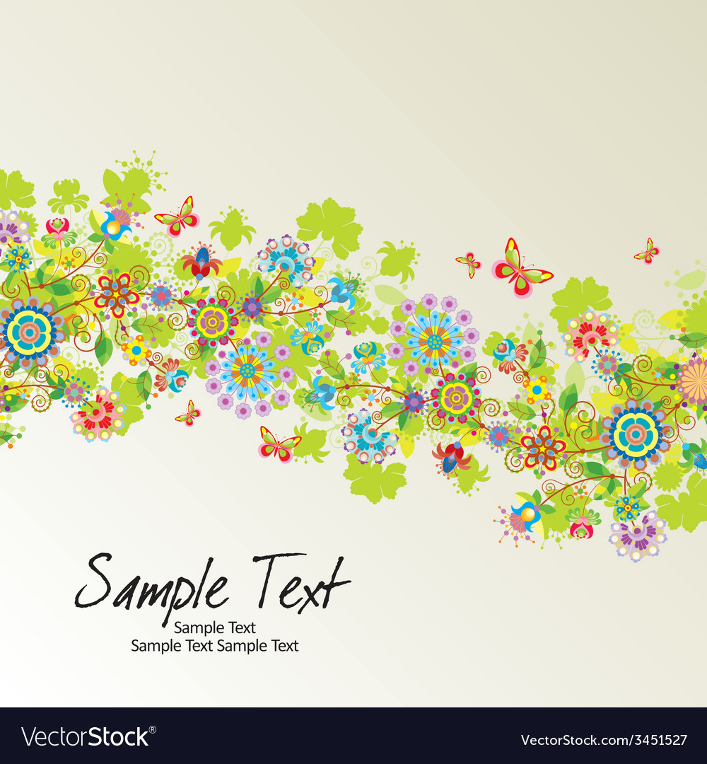 Floral line10 01 03 vector | Price: 1 Credit (USD $1)