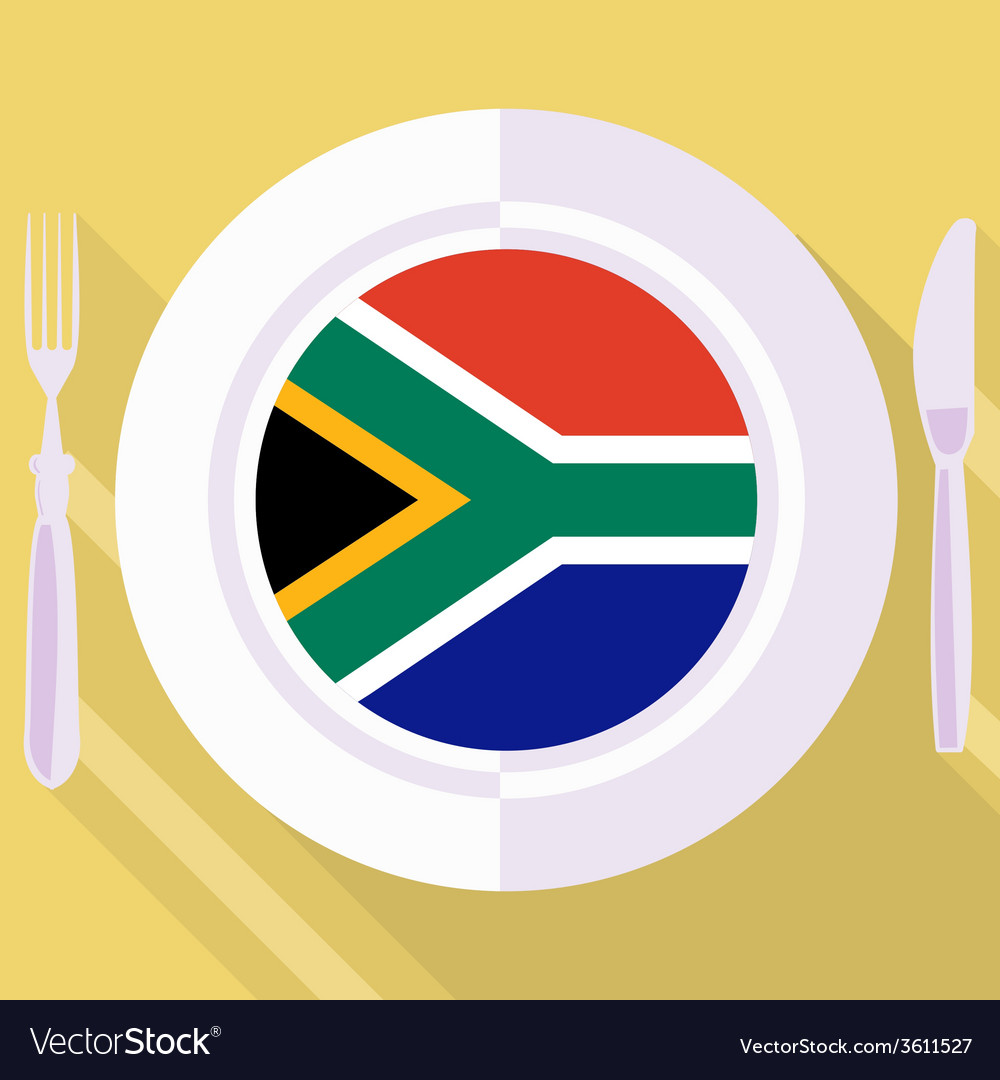 Kitchen of south africa vector | Price: 1 Credit (USD $1)