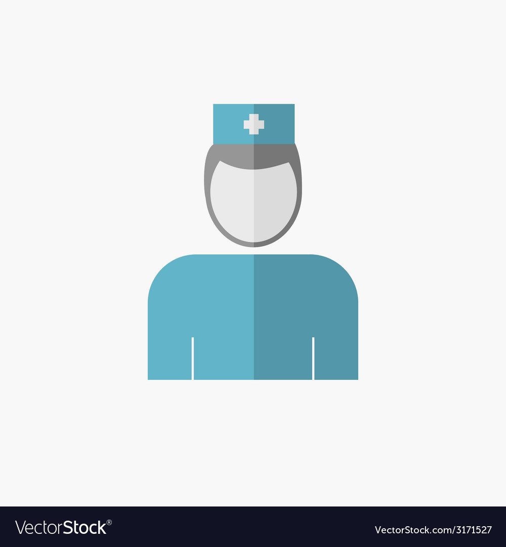 Medical flat icon vector | Price: 1 Credit (USD $1)