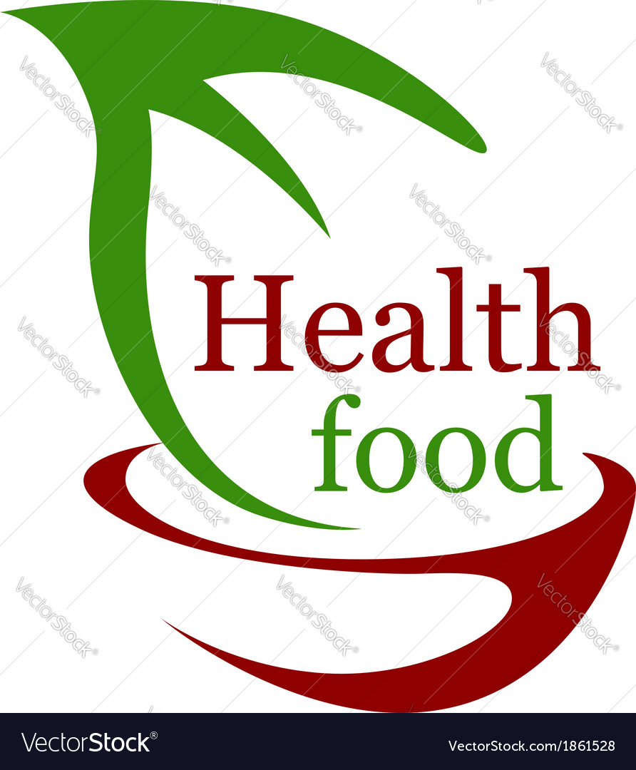 Health vegetarian food icon vector | Price: 1 Credit (USD $1)