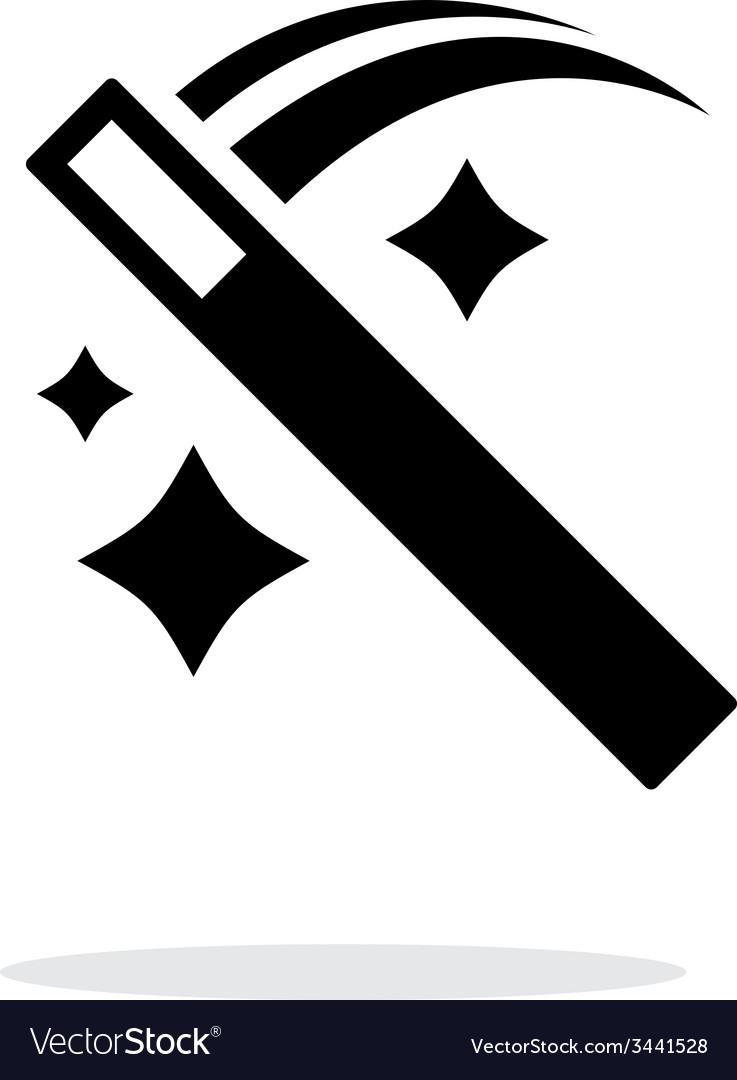 Move magic wand icon vector | Price: 1 Credit (USD $1)