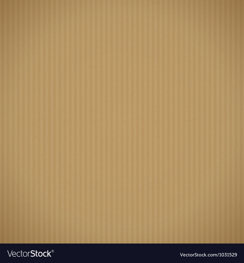 Corrugated cardboard background vector | Price: 1 Credit (USD $1)