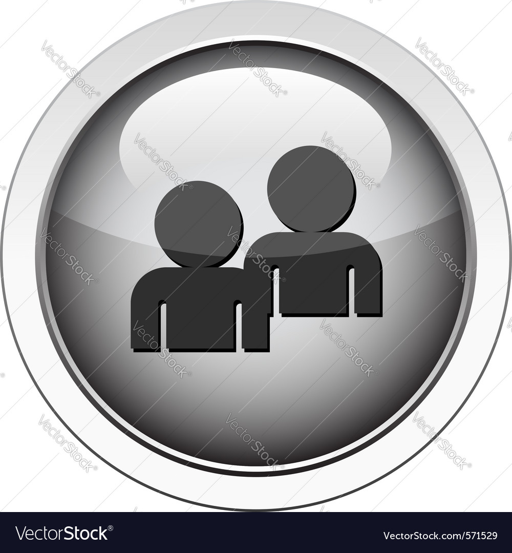 Forum  buddy icon vector | Price: 1 Credit (USD $1)