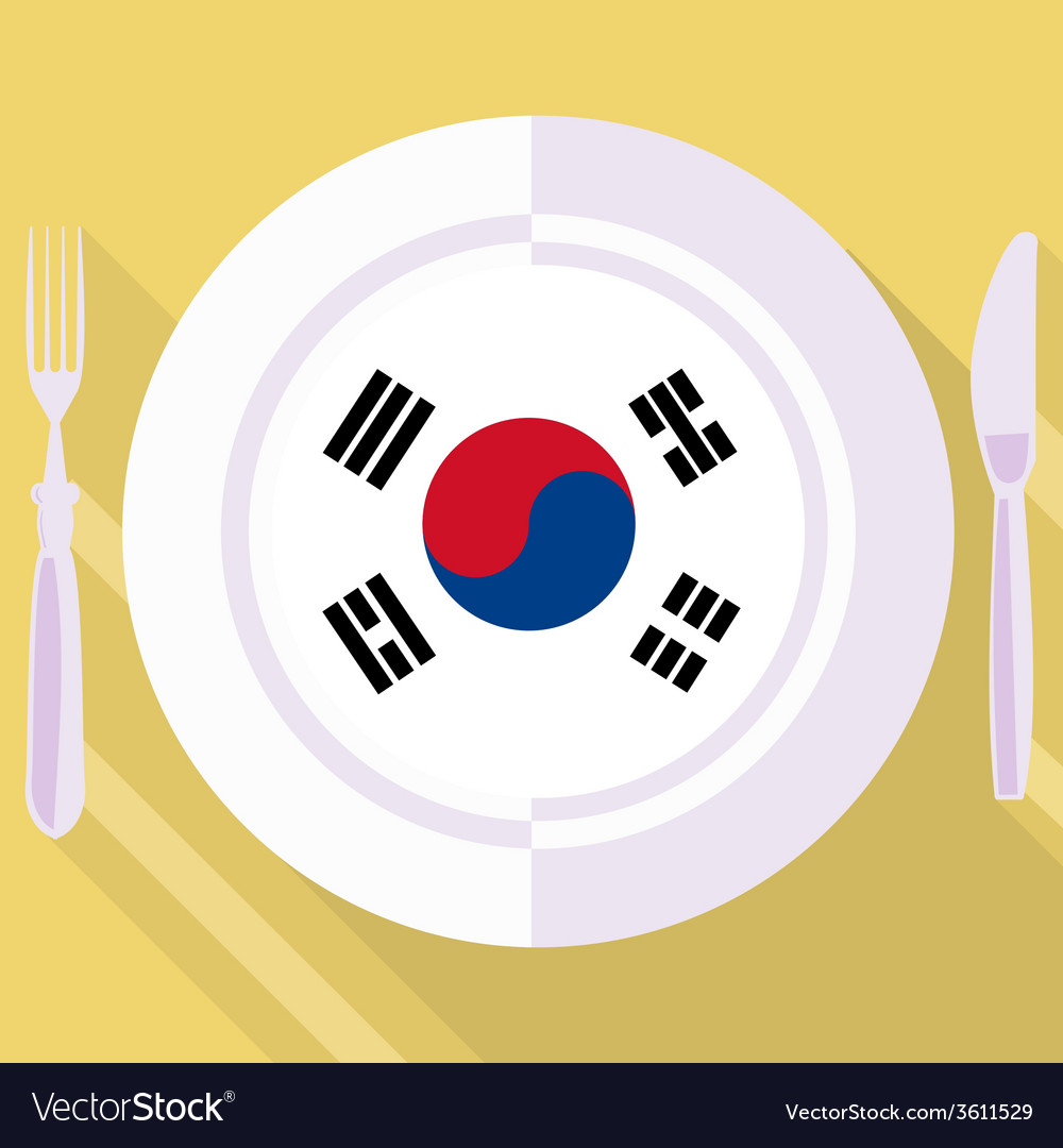 Kitchen of south korea vector | Price: 1 Credit (USD $1)