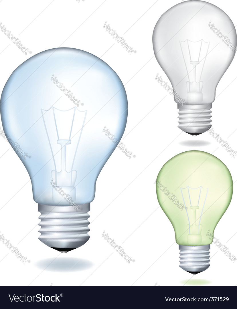 Set of bulbs vector | Price: 1 Credit (USD $1)
