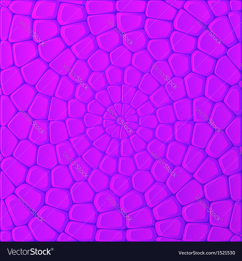Violet bricks abstract background vector | Price: 1 Credit (USD $1)