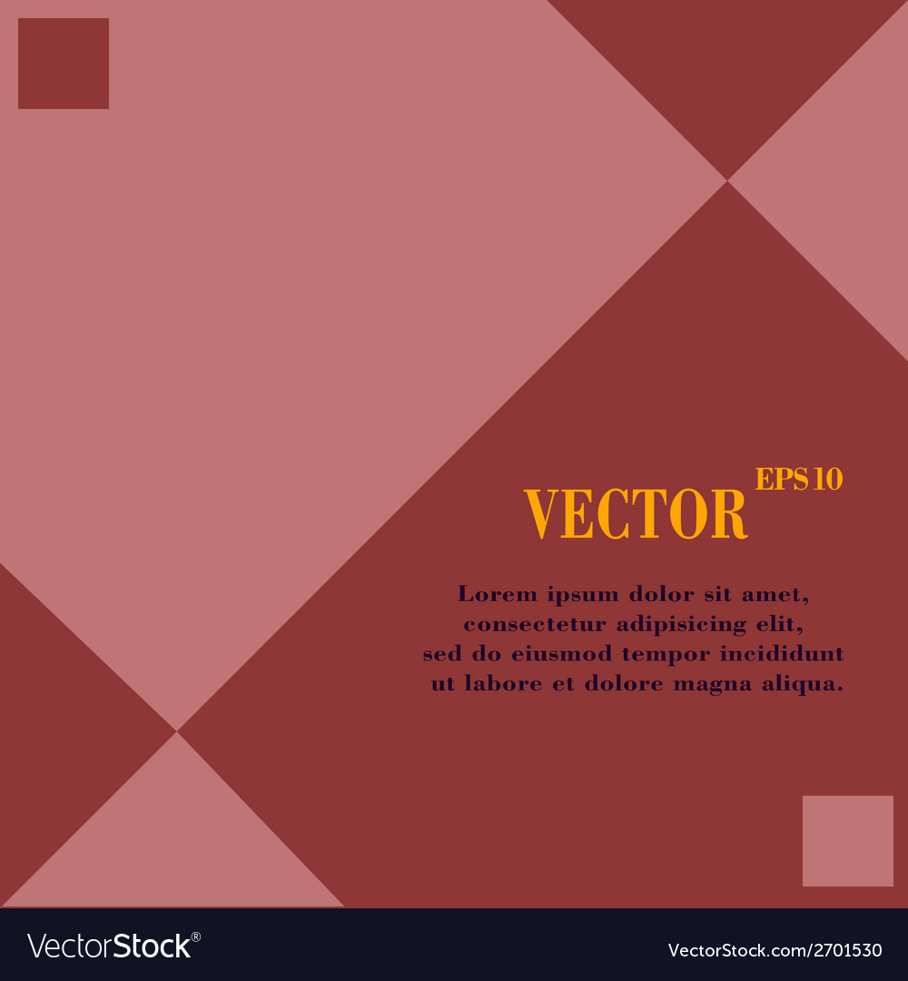 Web design a flat geometric background message vector | Price: 1 Credit (USD $1)