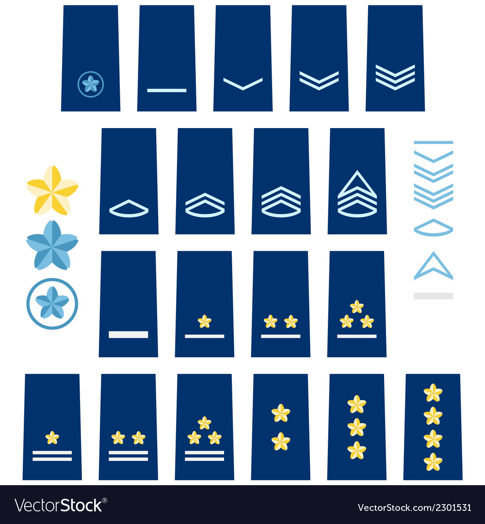 Japanese air force insignia vector | Price: 1 Credit (USD $1)