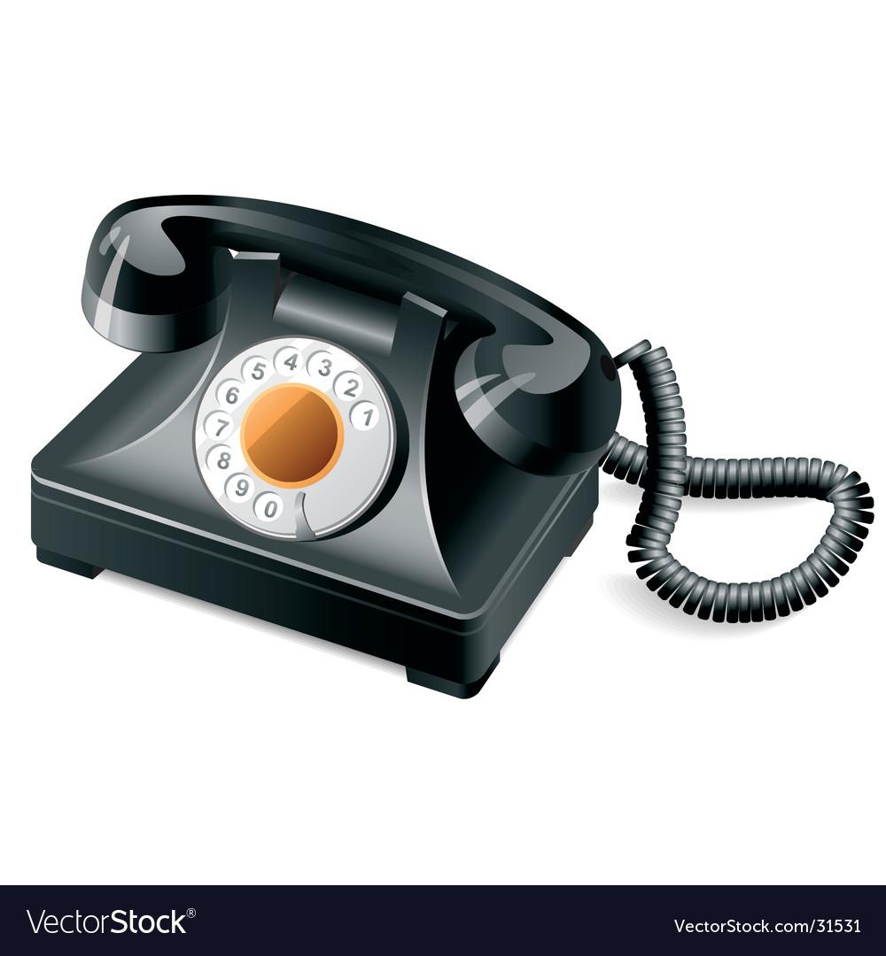 Retro phone vector   Price: 3 Credit (USD $3)