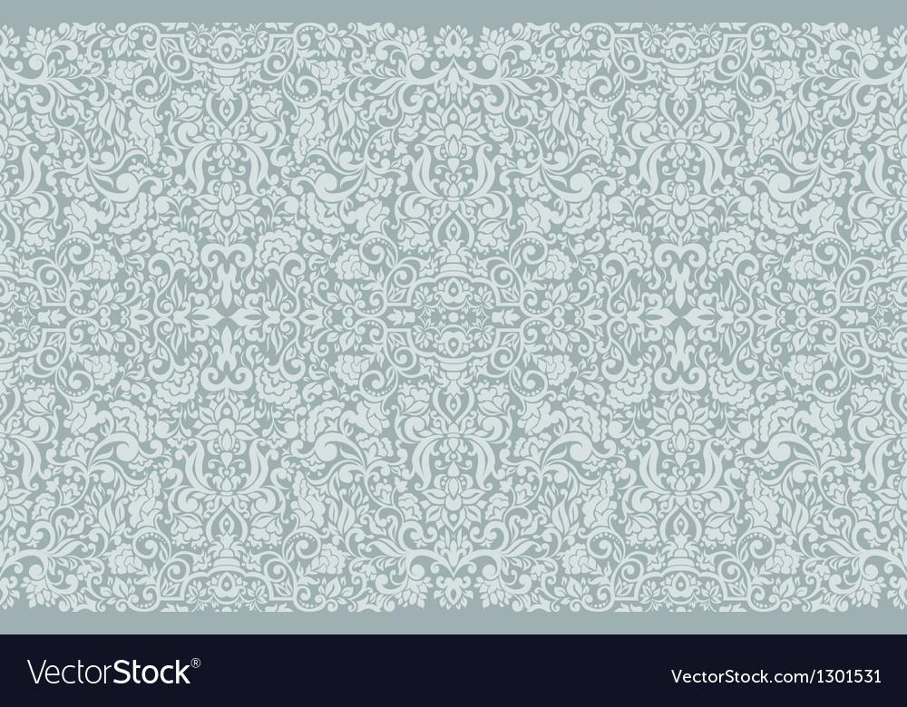 Seamless damask wallpaper vector | Price: 1 Credit (USD $1)