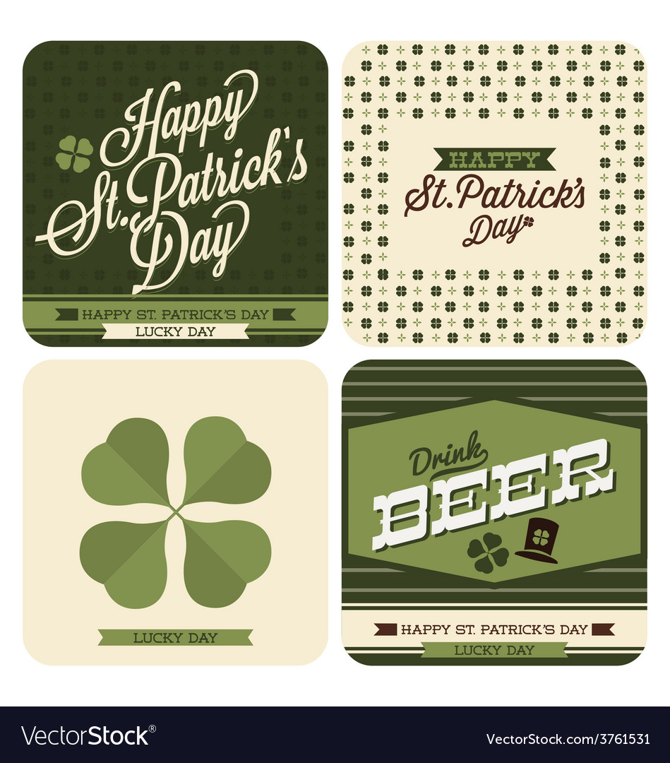St patricks day design vector | Price: 1 Credit (USD $1)