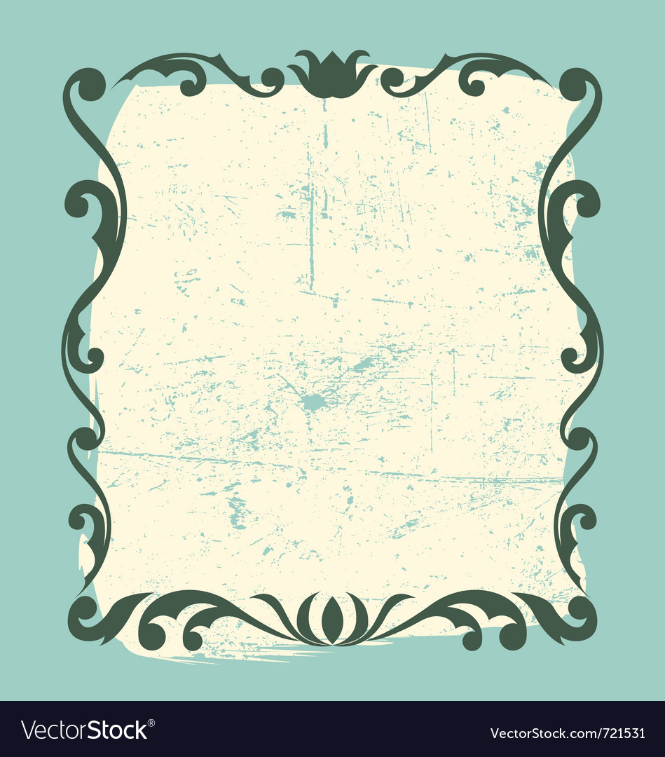 Vintage frame design element vector | Price: 1 Credit (USD $1)