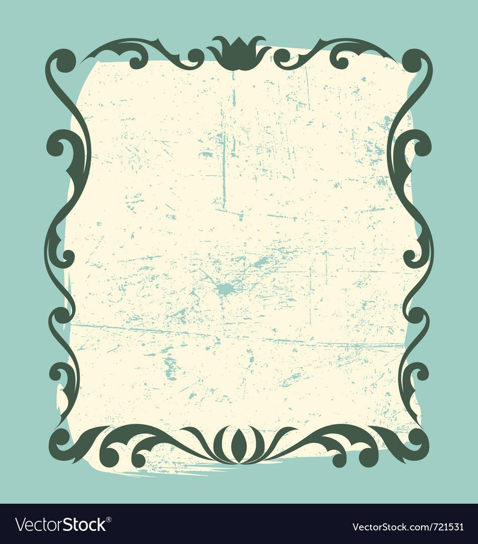 Vintage frame design element vector | Price: 1 Credit (USD $1)