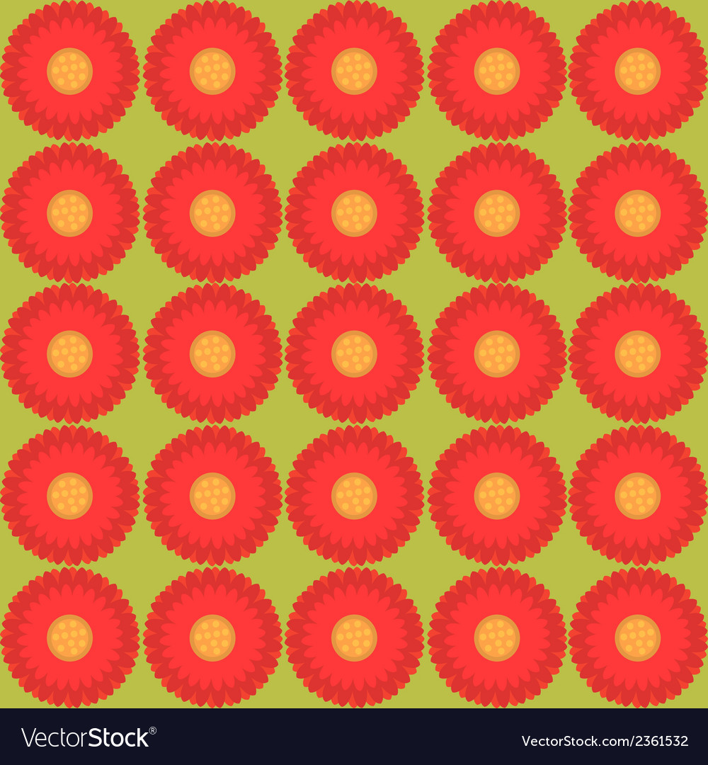 Floral pattern - seamless texture vector | Price: 1 Credit (USD $1)
