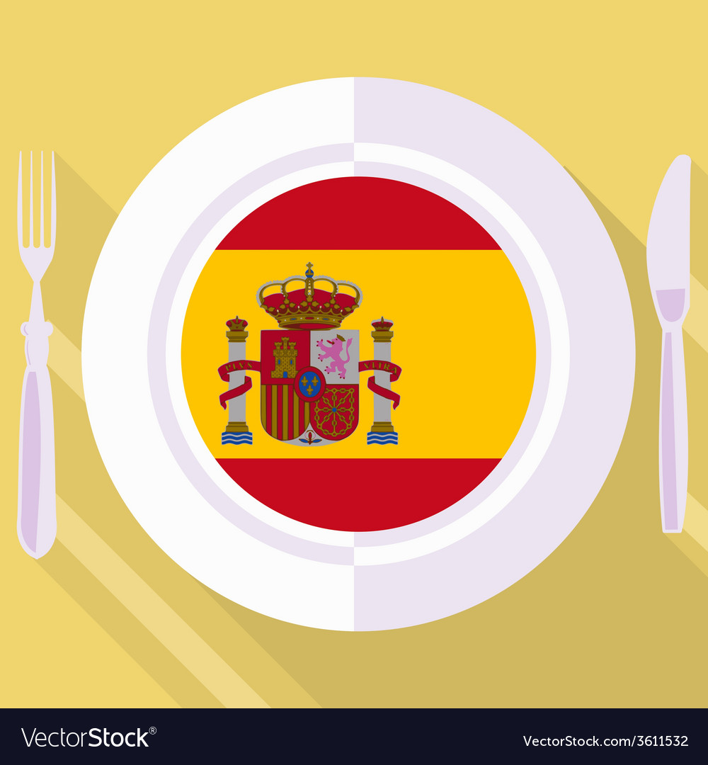 Kitchen of spain vector | Price: 1 Credit (USD $1)