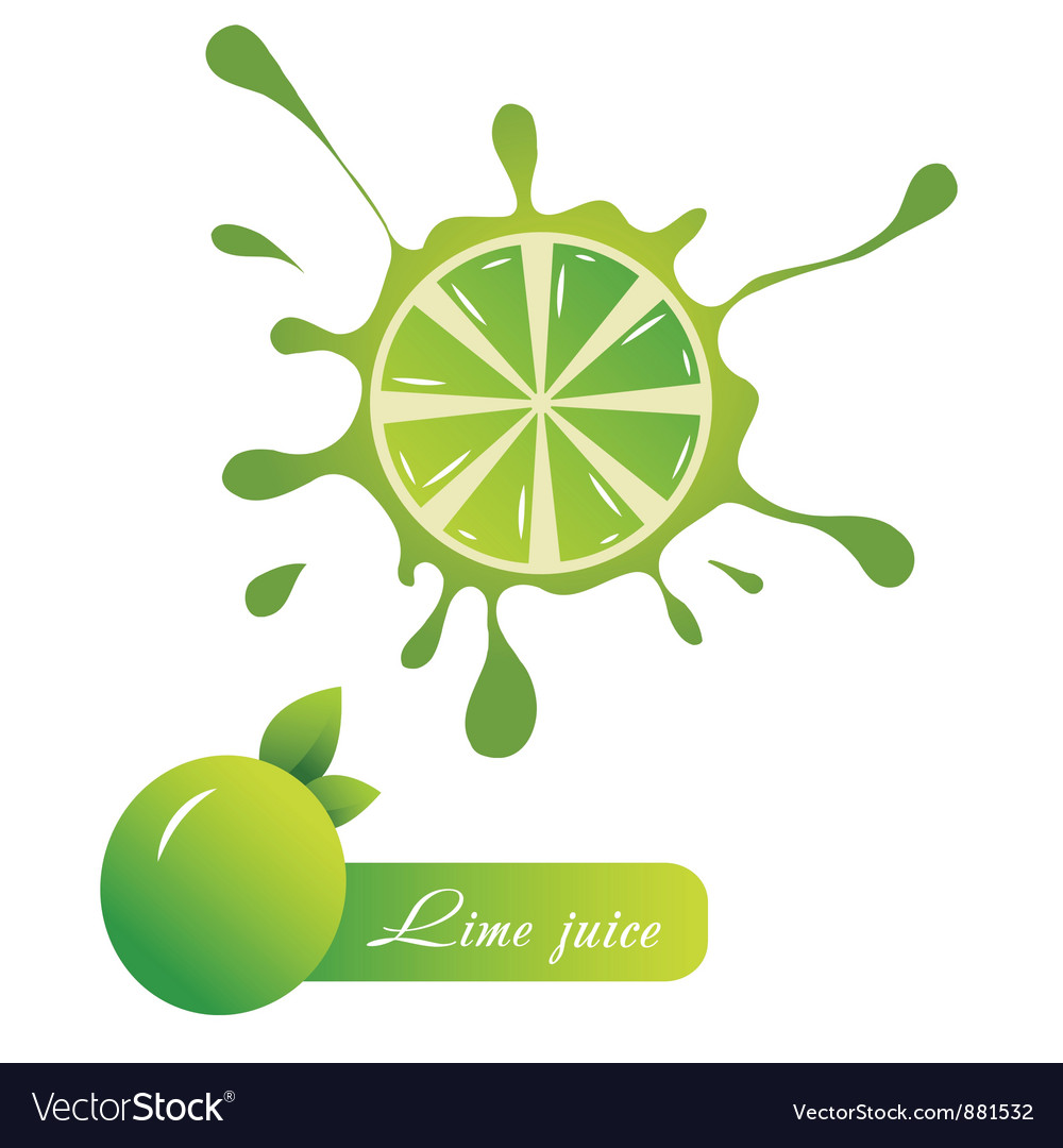 Lime juice vector | Price: 1 Credit (USD $1)