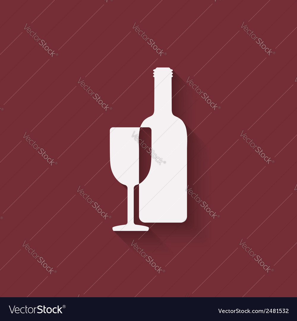 Wine menu design element vector | Price: 1 Credit (USD $1)