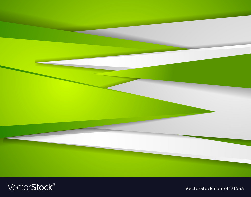 Abstract green tech corporate background vector | Price: 1 Credit (USD $1)
