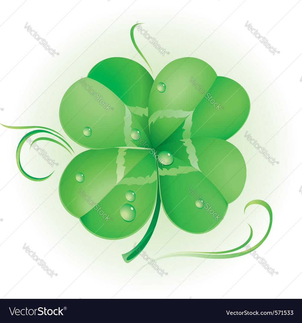 Irish shamrock vector | Price: 1 Credit (USD $1)