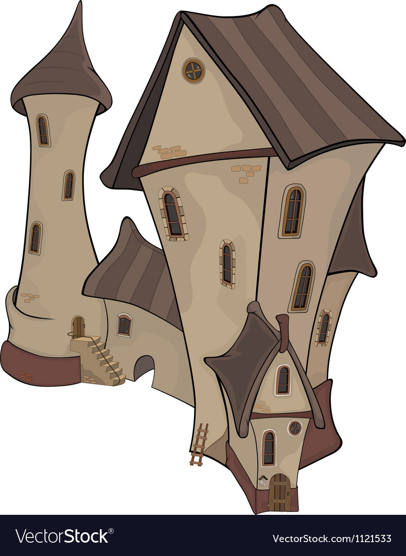 The old castle vector | Price: 1 Credit (USD $1)