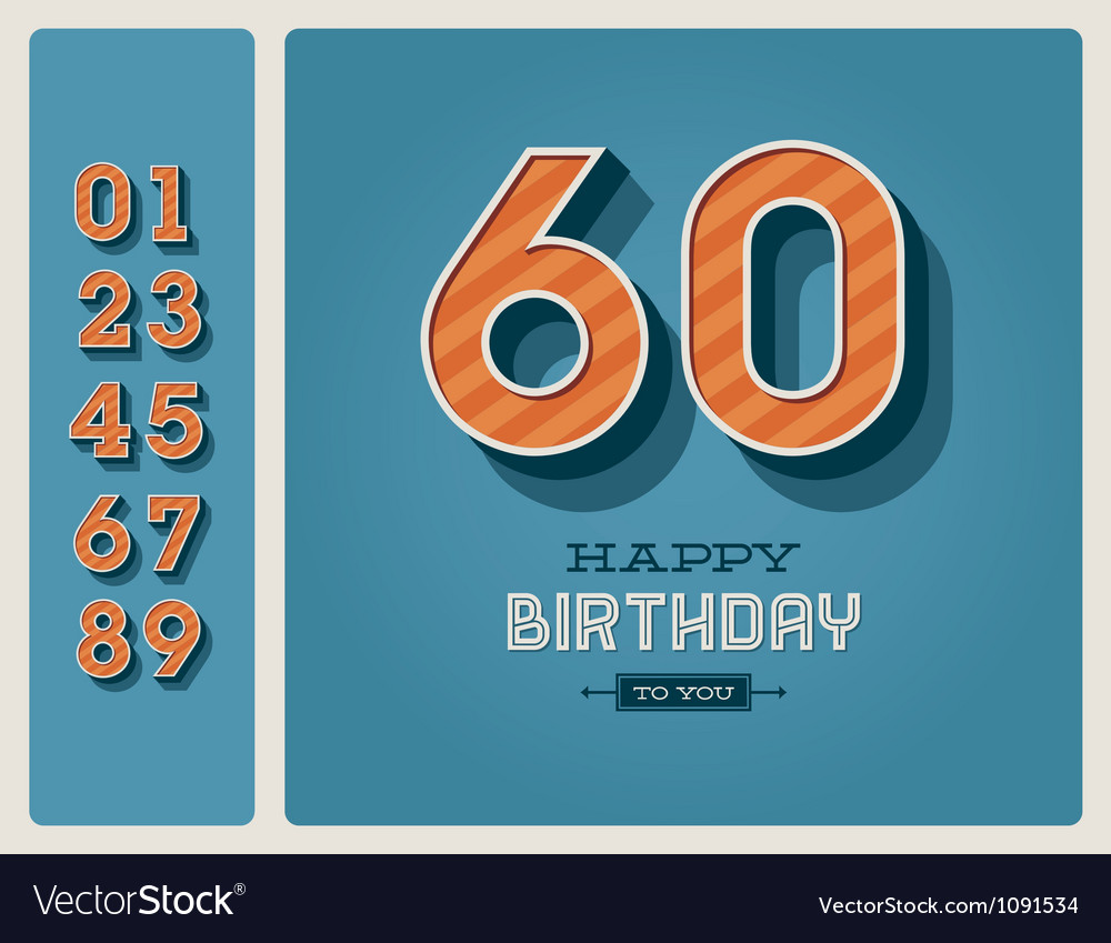Birthday card editable vector | Price: 3 Credit (USD $3)