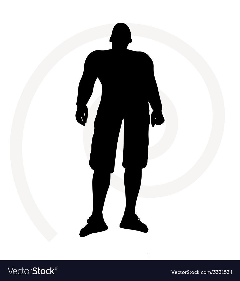 Man silhouette vector   Price: 1 Credit (USD $1)