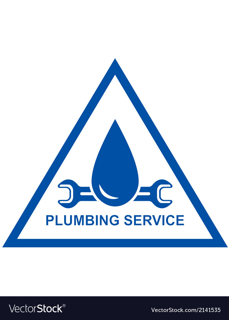 Symbol of plumbing service vector | Price: 1 Credit (USD $1)