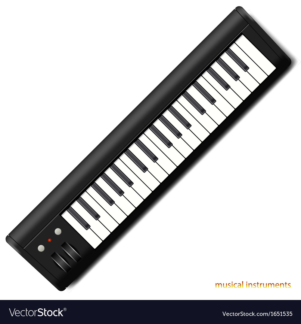 Synthesizer vector | Price: 1 Credit (USD $1)