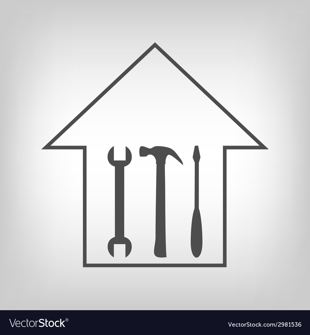House repair vector | Price: 1 Credit (USD $1)