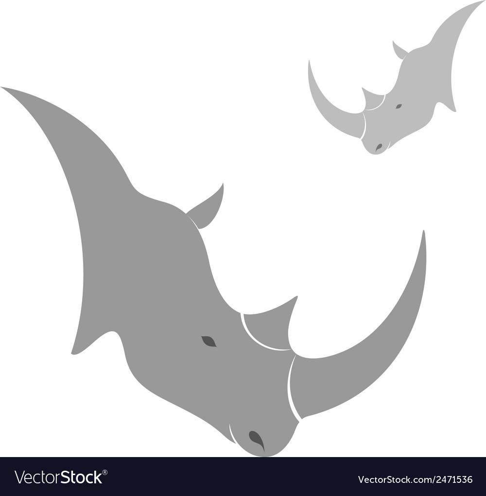 Rhinoceros vector   Price: 1 Credit (USD $1)