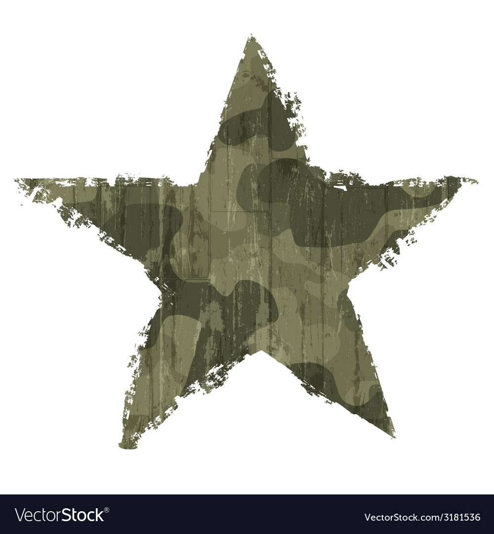 Star abstract khaki vector | Price: 1 Credit (USD $1)