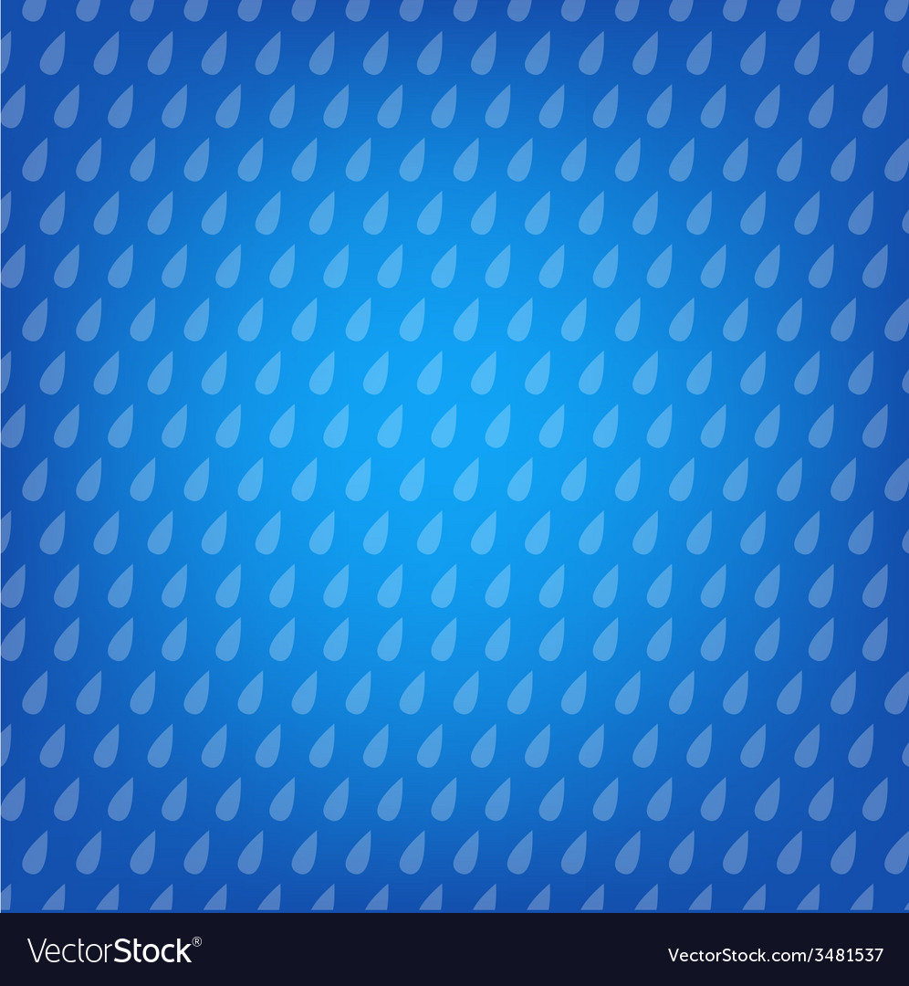 Blue background with drops vector | Price: 1 Credit (USD $1)