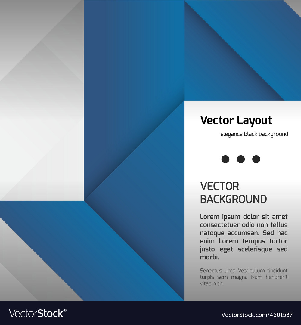 Blue layout vector   Price: 1 Credit (USD $1)