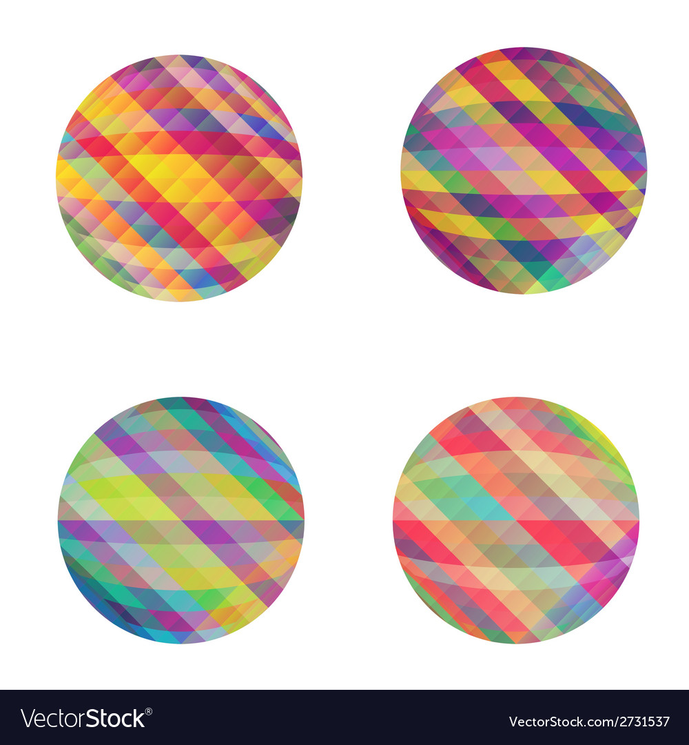 Circles set vector | Price: 1 Credit (USD $1)