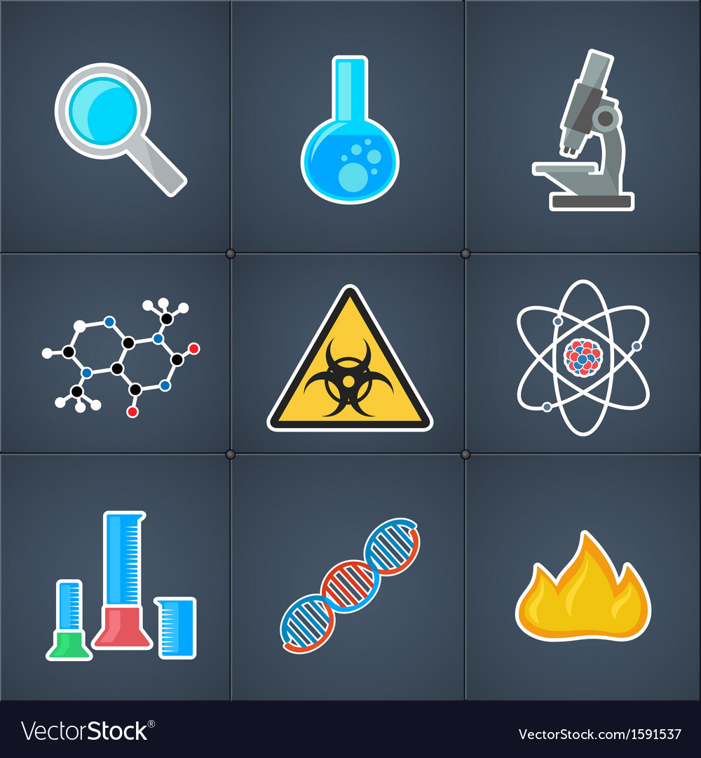 Icon science vector | Price: 1 Credit (USD $1)