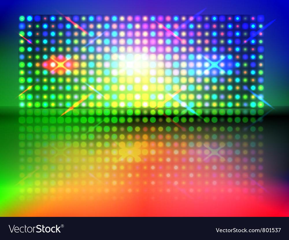 Rgb light wall vector | Price: 1 Credit (USD $1)