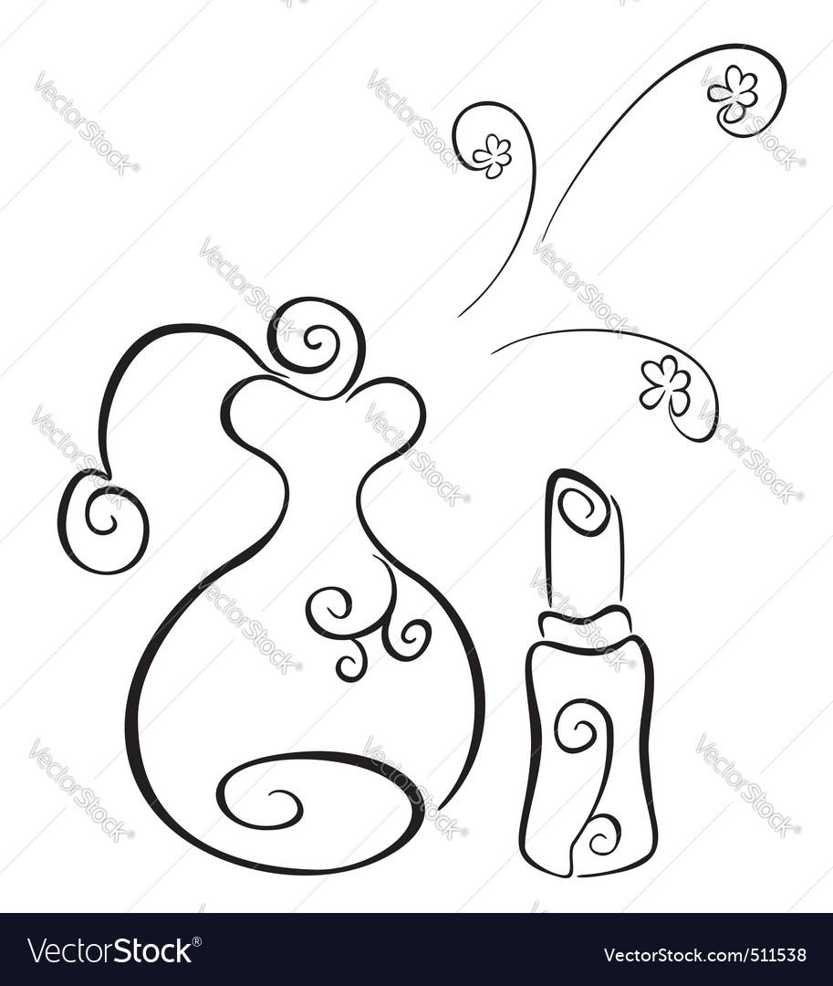 Cosmetics symbol vector | Price: 1 Credit (USD $1)