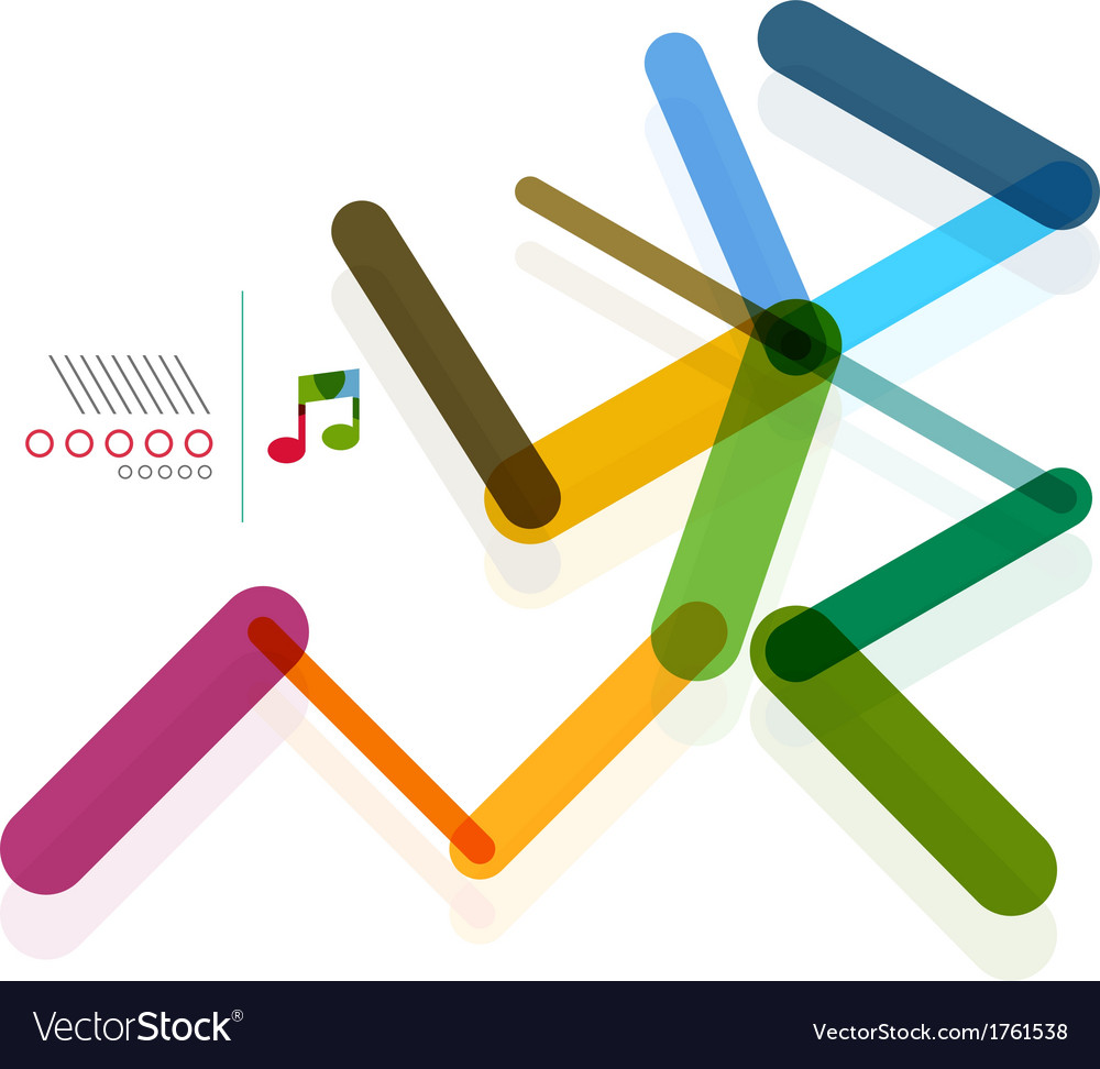 Man person abstract geometric shape concept vector | Price: 1 Credit (USD $1)